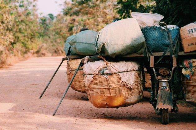 Kampot, authentiek Cambodia
