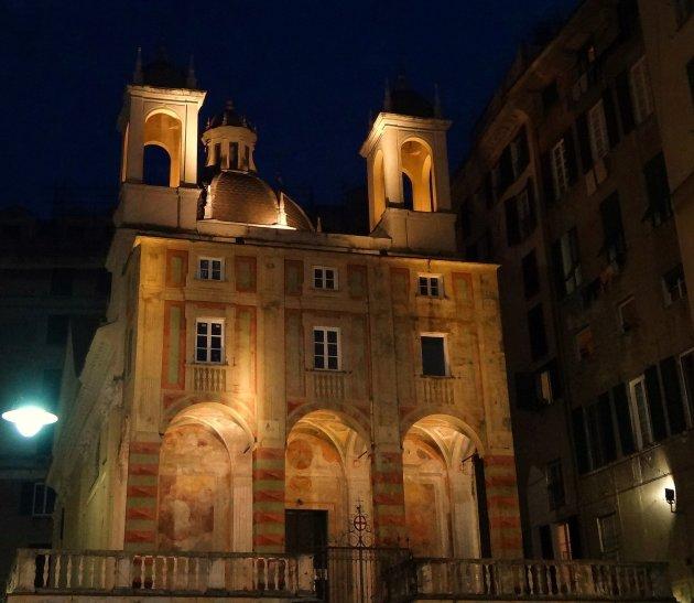 De kerk van San Pietro in Banchi