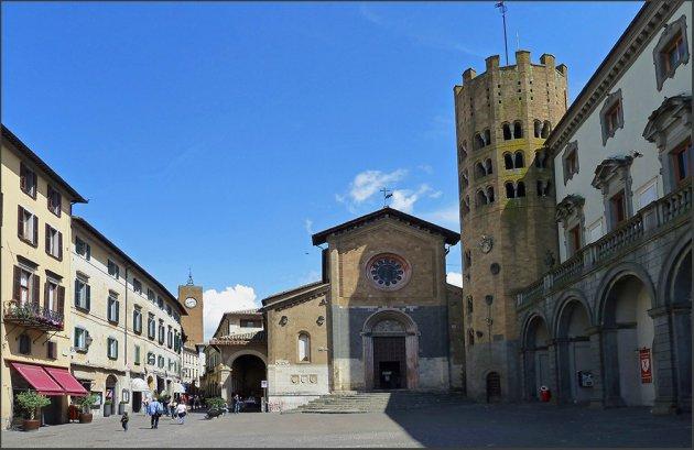 Pleintje in Orvieto