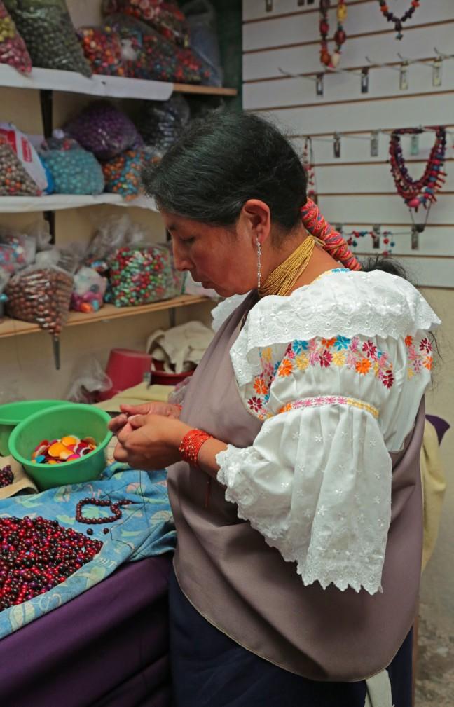 Vrouwenproject Pacha Calera Otavalo