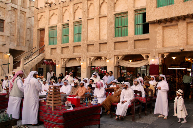 veiling in Doha