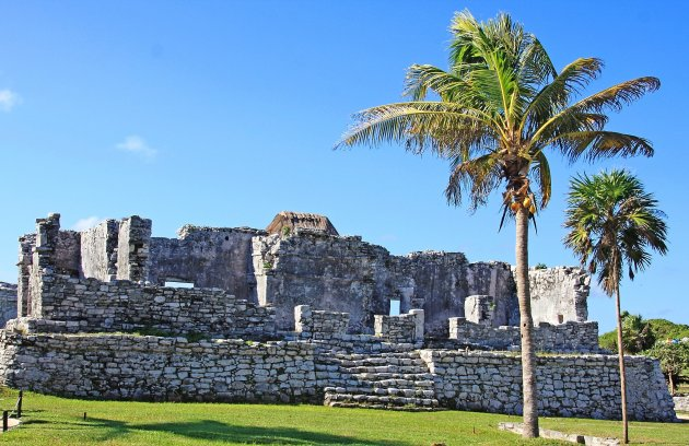 Ruines in de tropen