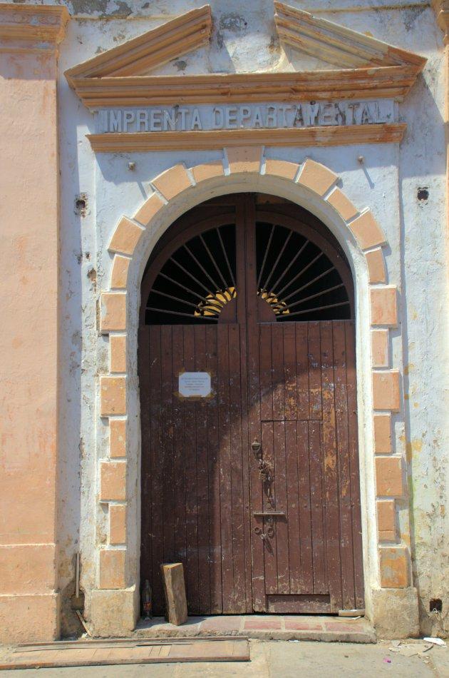 Koloniale deur