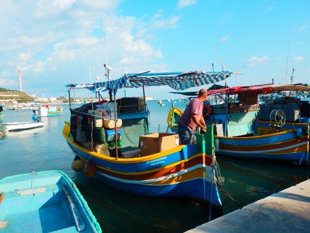 Karakteristieke vissersbootjes