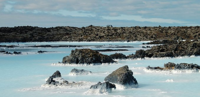 Omgeving Blue Lagoon