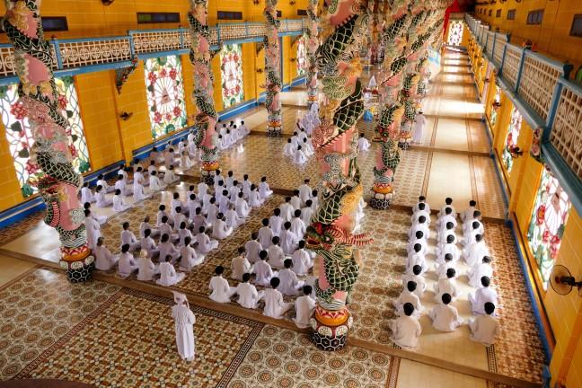 Heilige stoel van Cao Dai