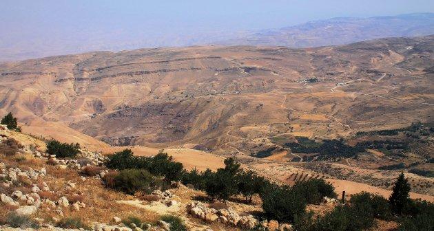 Bewonder het Beloofde Land vanaf Mount Nebo