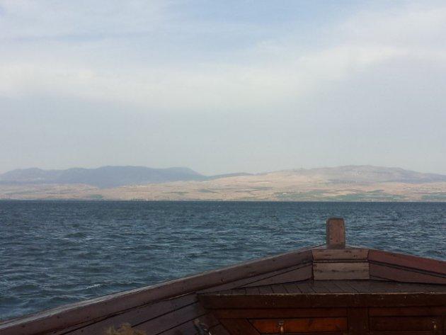 Varen over het Meer van Tiberias