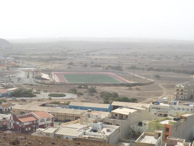 Uitzicht op Espargos.
