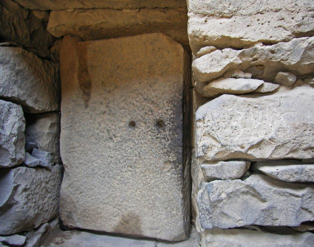 een deur van drie ton