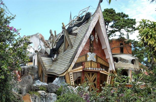 Crazy House in Da Lat: het vreemdste huis van Vietnam