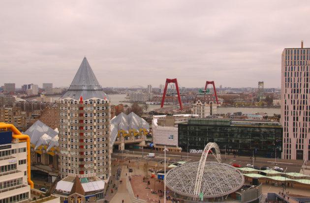 Rotterdam in de hoogte
