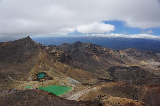 Een spectaculaire wandeltocht tussen de vulkanen van Nieuw-Zeeland