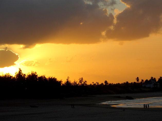 Sundowner in Mozambique