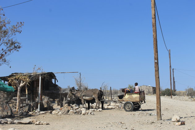 Little village near Spitzkoppe @ Namibia