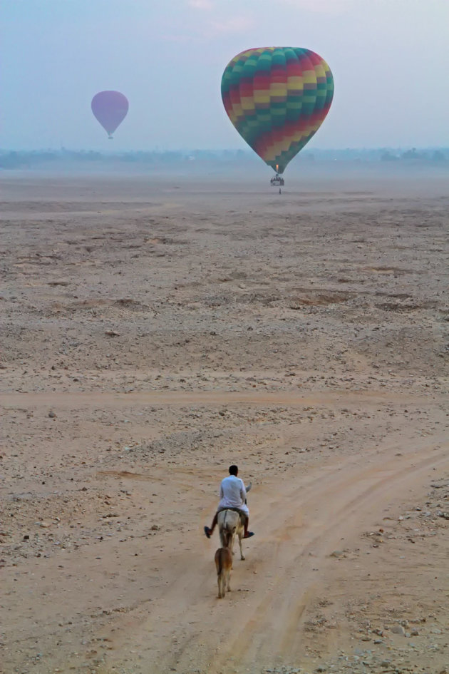 De landing wordt ingezet