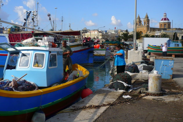 Charmant vissersplaatsje