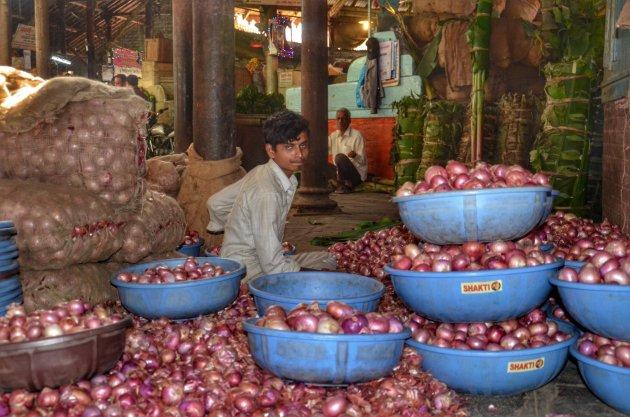 Traditionele bazaar
