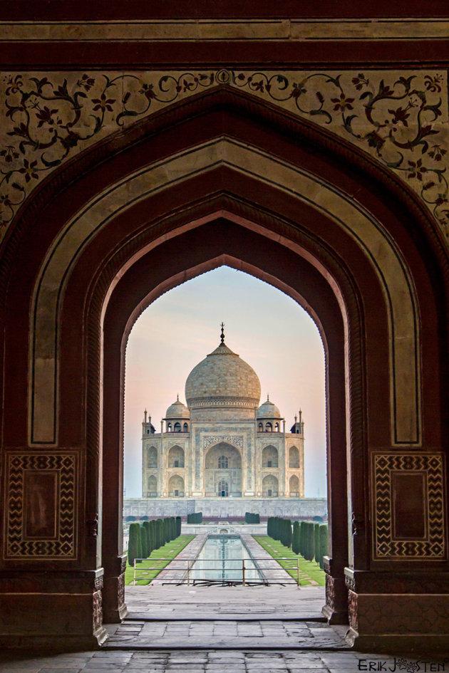 Taj Mahal, Check!