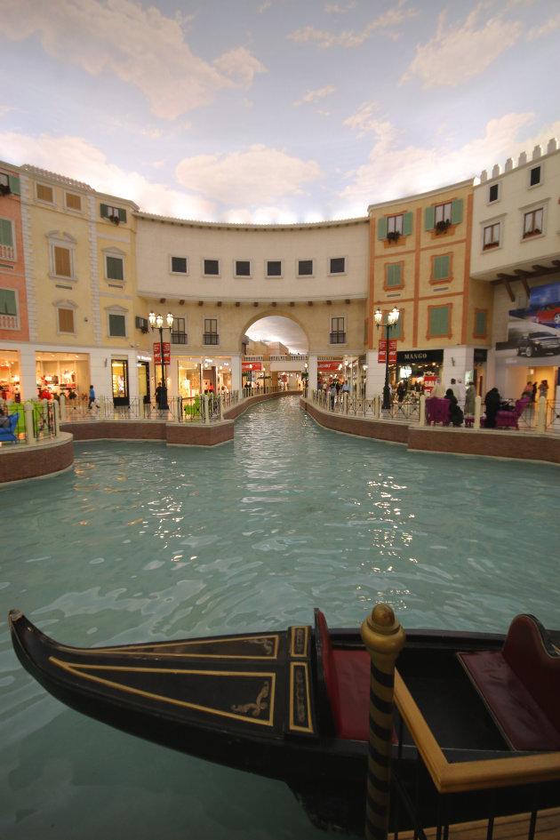 Verwarrend winkelen in Doha