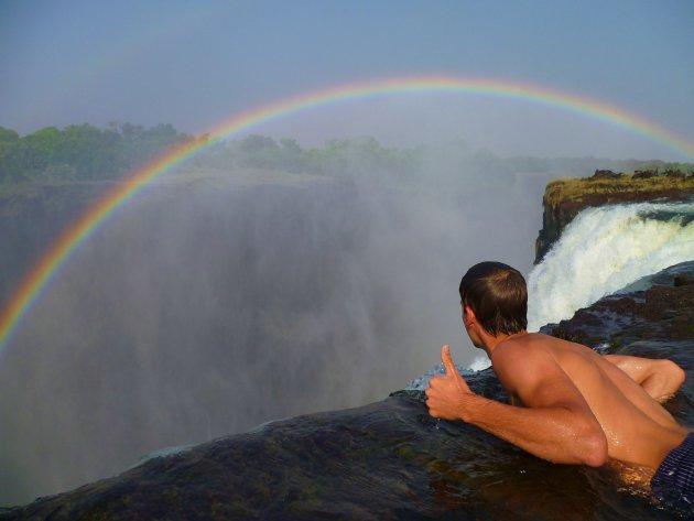 Devils Pool @ the Victoria Falls, Zambia