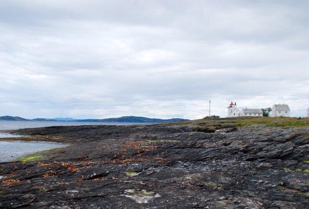 Tungenes Fyr aan de Noorse kust