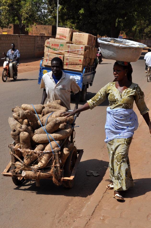 Samen naar de markt