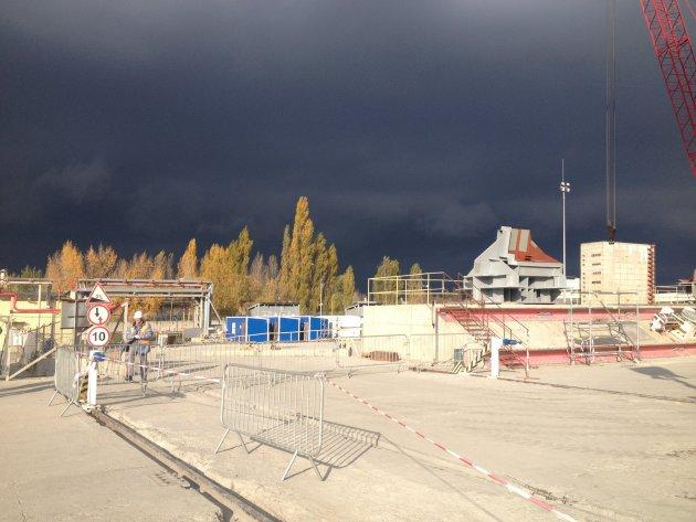 Donkere wolken boven Chernobyl