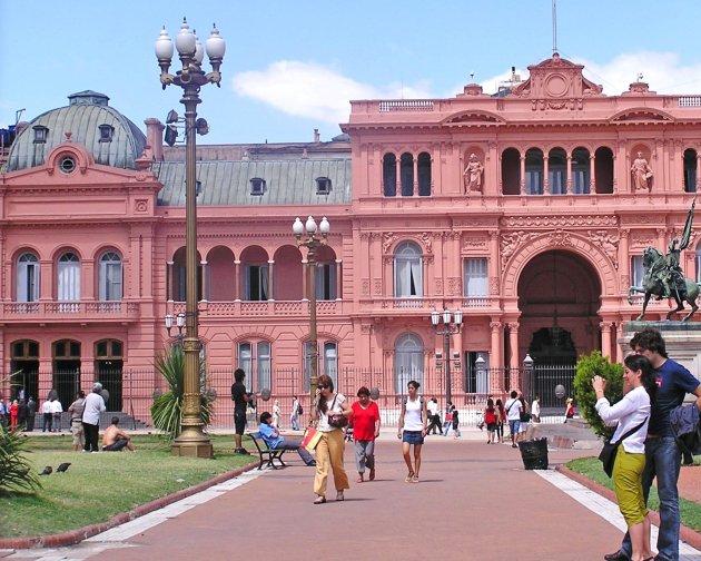 Het roze huis