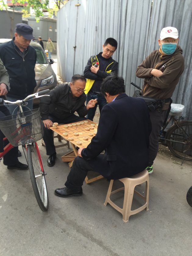 Fietsen door de hutongs van Beijing