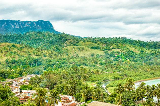 Uitzicht op Baracoa