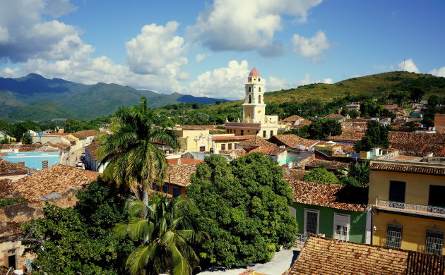 Trinidad van bovenaf