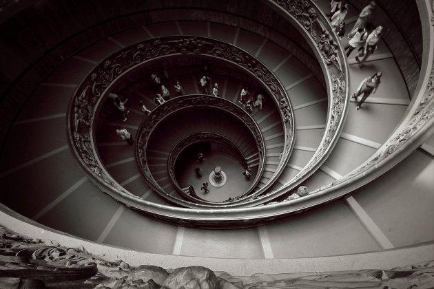 Trappenhuis in Vaticaanse Musea