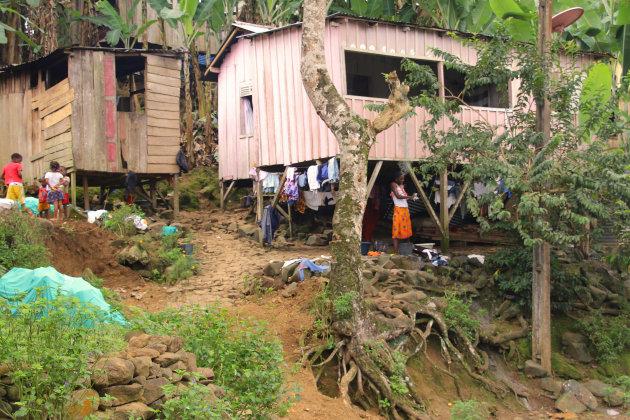 dorpstafereel Sao Tomé