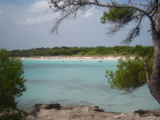 Baai op Menorca