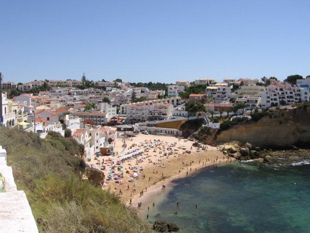 Overzichtsfoto Carvoeiro - Algarve