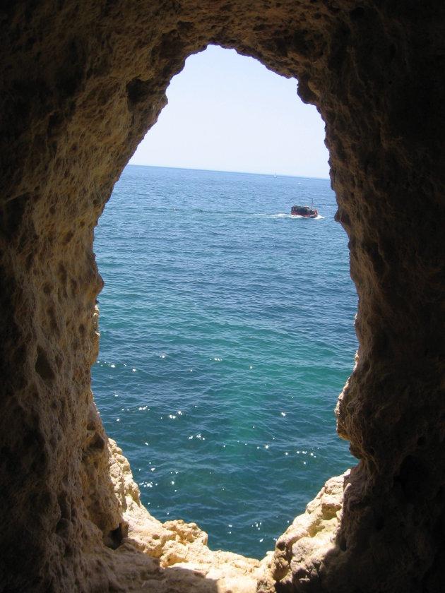 Grotten nabij Carvoeiro - Algarve