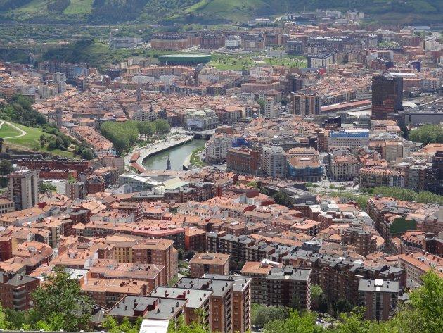 Zicht op Bilbao