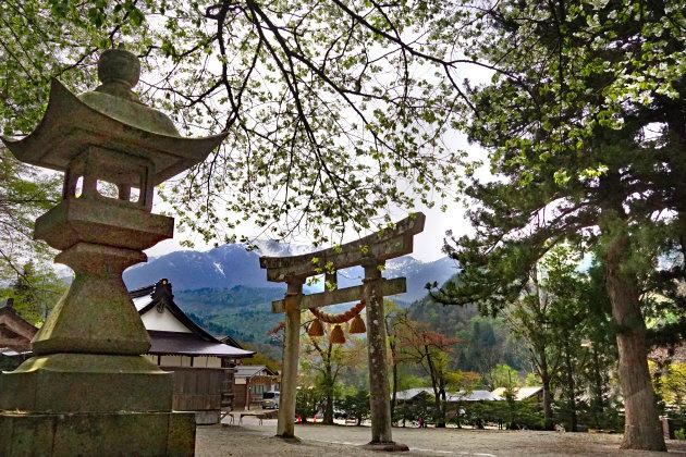 Shintotempel in Shirakawago
