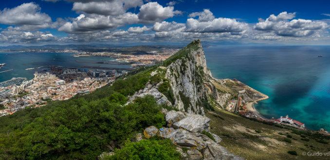 The rock van Gibraltar