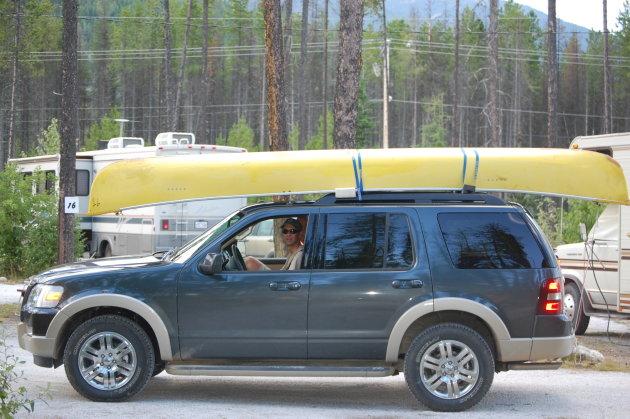 In Canada op pad met kano op Murtle Lake