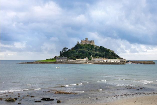 St Michael's mount: af en toe een eiland