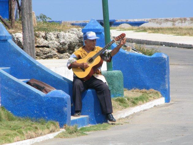 Eenzame gitarist