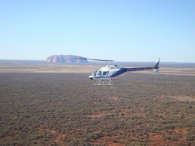 Uluru per helicopter