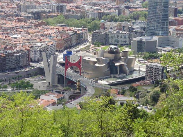 Guggenheim van boven af gezien