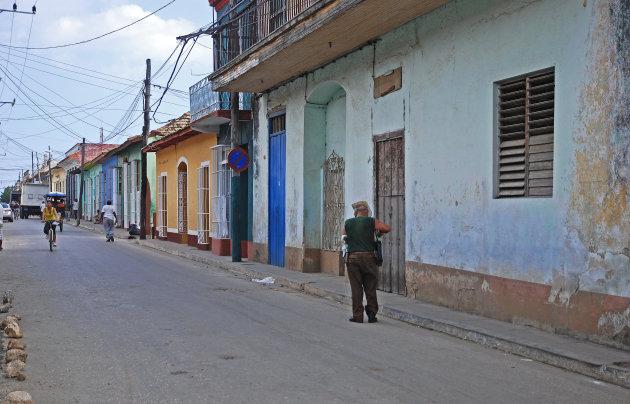 straatleven in Trinidad!