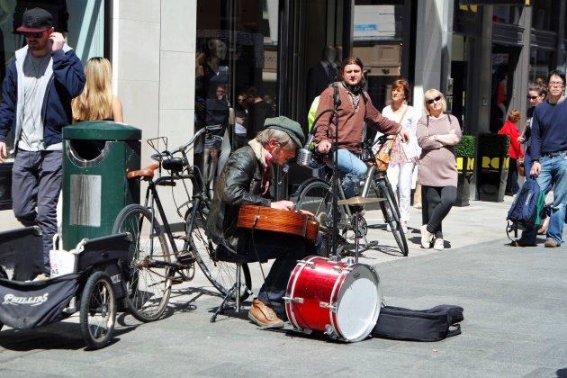 live muziek op straat