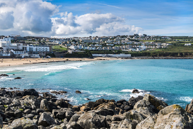 Surfing St Ives