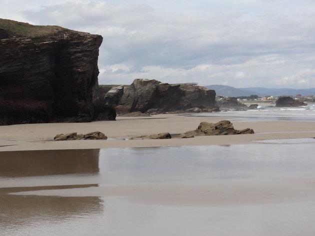 Op het strand van de kathedralen