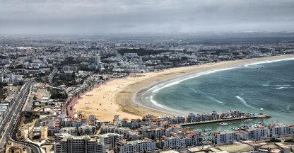 Uitzicht over Agadir